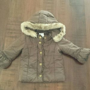 Juicy Couture baby girl jacket coat 24 months 18 2